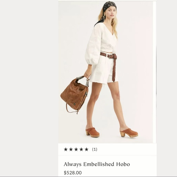 A.S.98 Handbags - A.s.98 Always Embellished Hobo